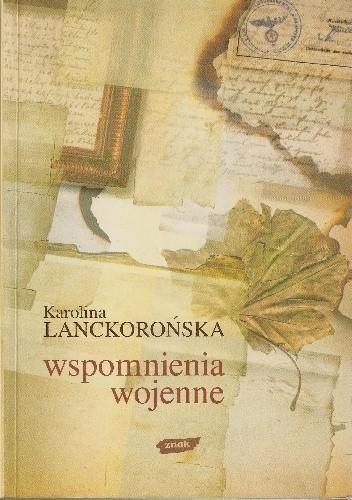 Okładka książki Wspomnienia wojenne