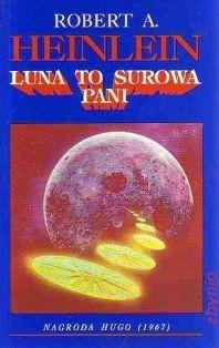 Okładka książki Luna to surowa pani
