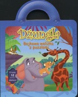 Okładka książki Dżungla/Bajkowa walizka z puzzlami/