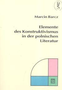 Okładka książki Elemente des Kontruktivismus