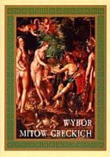 Okładka książki Wybór mitów greckich