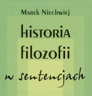 Okładka książki Historia filozofii w sentencjach