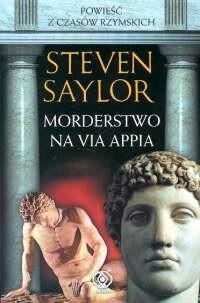 Okładka książki Morderstwo na Via Appia