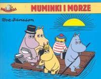 Okładka książki Muminki. Muminki i morze
