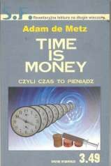Okładka książki Time is money czyli czas to pieniądz