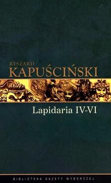 Okładka książki Lapidaria IV-VI
