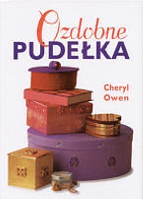 Okładka książki Ozdobne pudełka