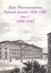 Okładka książki Dziennik lwowski 1842-1930 T 1-2