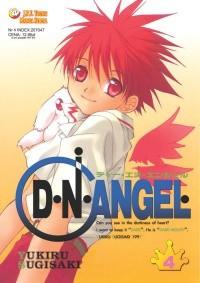 Okładka książki D.N.Angel tom 4