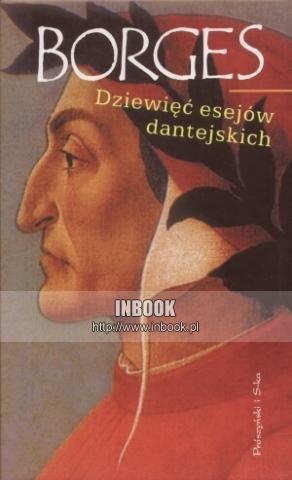 Okładka książki Dziewięć esejów dantejskich