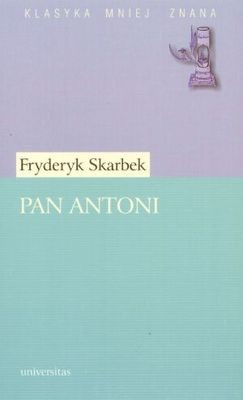 Okładka książki Pan Antoni