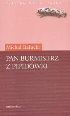 Okładka książki Pan burmistrz z Pipidówki