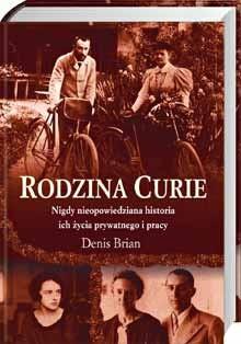Okładka książki Rodzina Curie