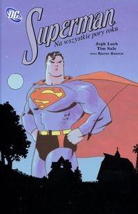 Okładka książki Superman na wszystkie pory roku