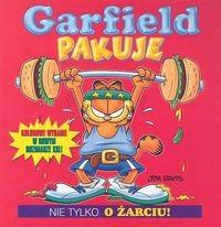 Okładka książki Garfield pakuje