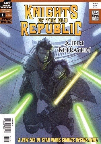 Okładka książki Star Wars: Knights of the Old Republic #1