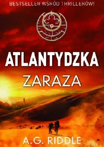 Okładka książki Atlantydzka zaraza