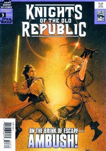 Okładka książki Star Wars: Knights of the Old Republic #3