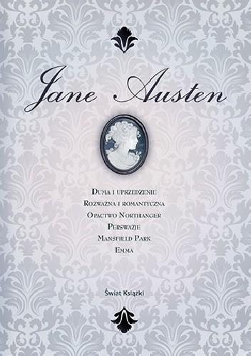 Okładka książki Jane Austen. Dzieła zebrane