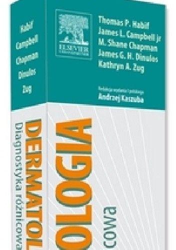 Okładka książki Dermatologia Diagnostyka różnicowa