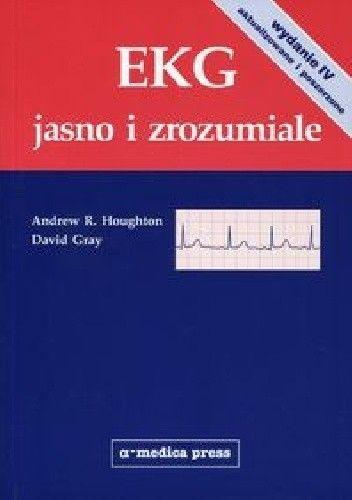 Okładka książki EKG jasno i zrozumiale. Wydanie 4
