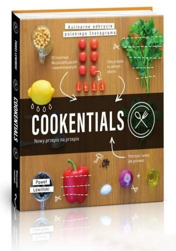 Okładka książki Cookentials. Nowy przepis na przepis