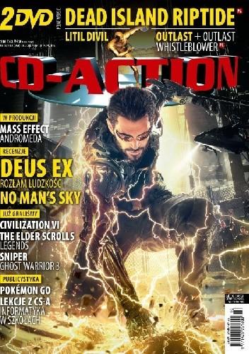 Okładka książki CD-Action 10/2016
