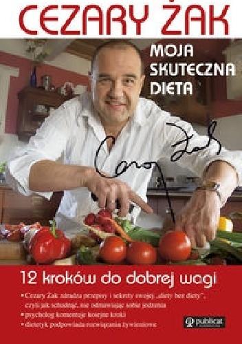 Okładka książki Moja skuteczna dieta 12 kroków do dobrej wagi