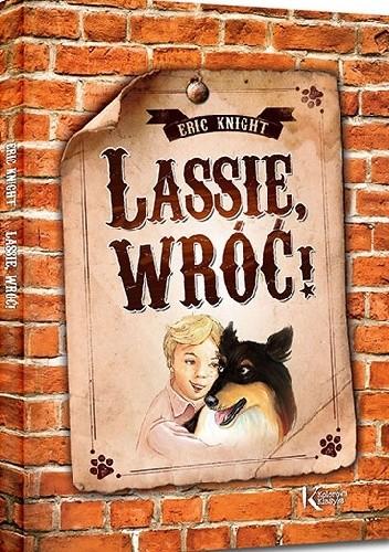 Okładka książki Lassie, wróć!