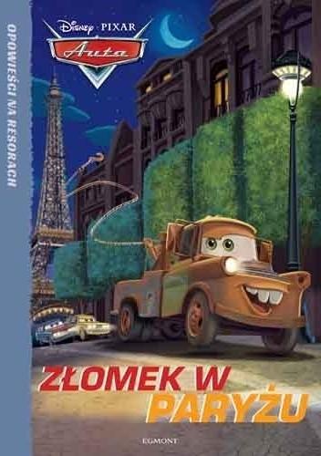 Okładka książki Auta. Złomek w Paryżu