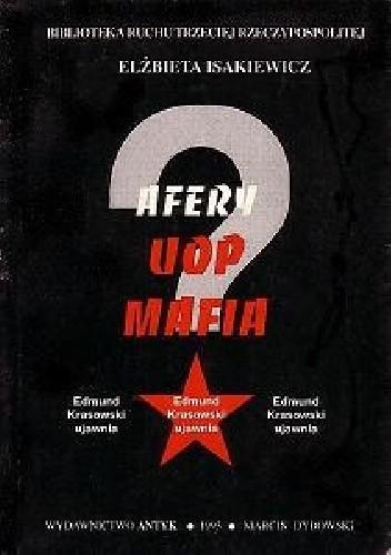 Okładka książki AFERY, UOP, MAFIA