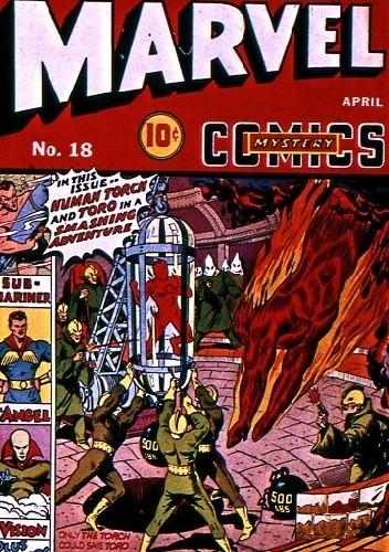 Okładka książki Marvel Mystery Comics 18
