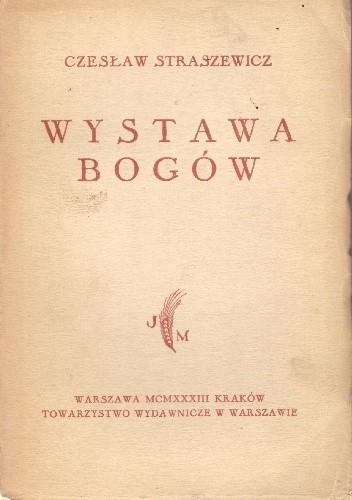Okładka książki Wystawa bogów