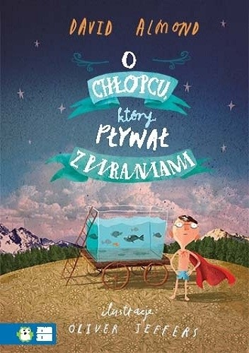 Okładka książki O chłopcu, który pływał z piraniami
