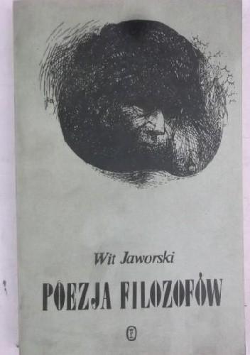 Okładka książki Poezja filozofów