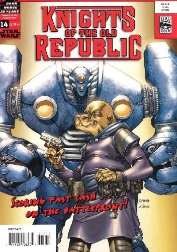 Okładka książki Star Wars: Knights of the Old Republic #14