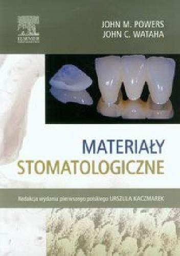Okładka książki Materiały stomatologiczne