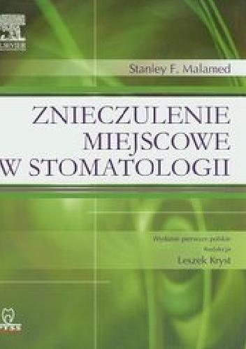 Okładka książki Znieczulenie miejscowe w stomatologii