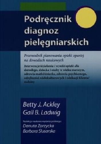 Okładka książki Podręcznik diagnoz pielęgniarskich