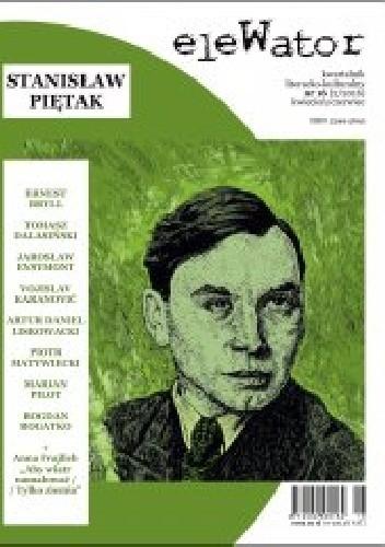 Okładka książki eleWator nr 16 - Stanisław Piętak