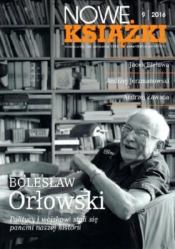 Okładka książki Nowe Książki nr 9/2016