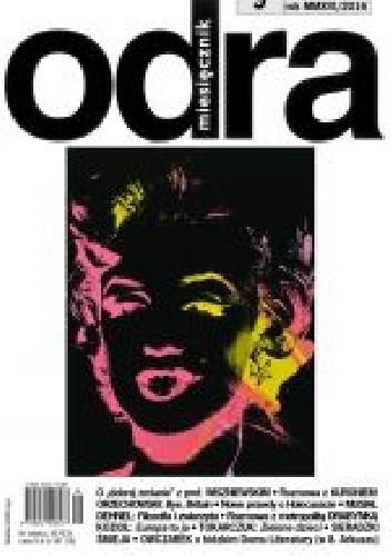 Okładka książki Odra nr 9/2016