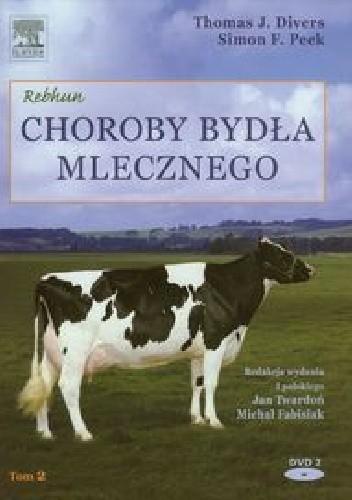 Okładka książki Choroby bydła mlecznego Tom 2