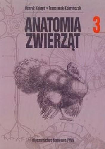 Okładka książki Anatomia zwierząt t. III