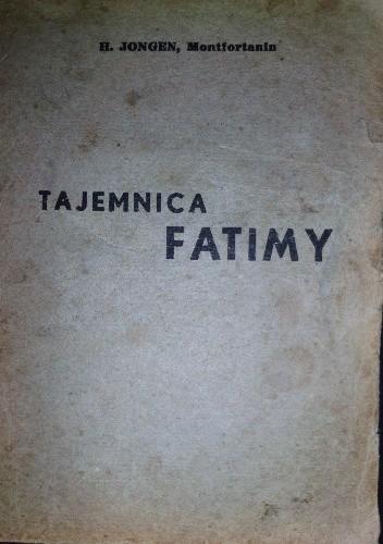 Okładka książki Tajemnica Fatimy