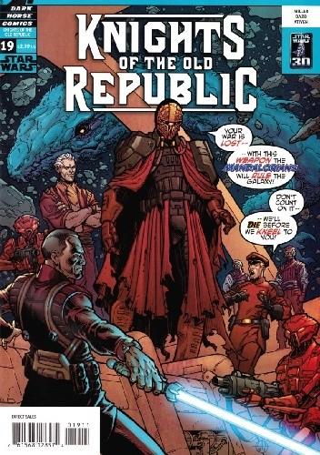 Okładka książki Star Wars: Knights of the Old Republic #19
