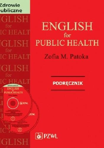 Okładka książki English for public health. Podręcznik