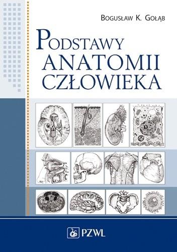Okładka książki Podstawy anatomii człowieka. Wydanie 2
