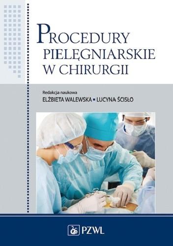 Okładka książki Procedury pielęgniarskie w chirurgii