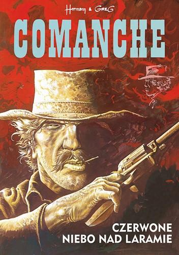 Okładka książki Comanche #4 - Czerwone niebo nad Laramie